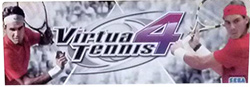 Logo for the video game Virtua Tennis 4