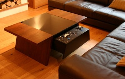 Contemporary Arcade Coffee Table