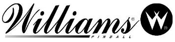 Williams pinball logo
