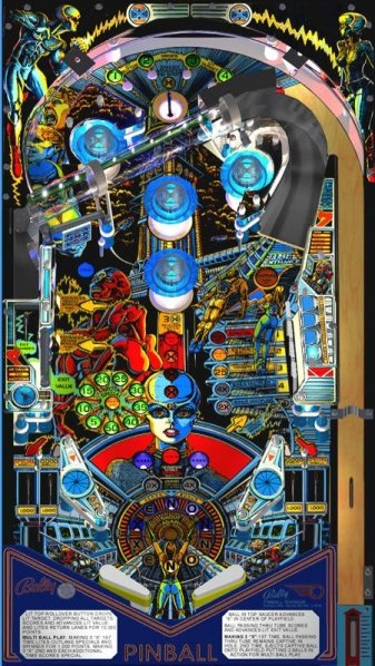 Ultrapin Digital Pinball Machine For Sale Liberty Games
