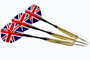The darts included with the Strikeworth dartboard