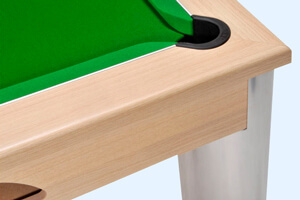 Detail of the Fusion pool table