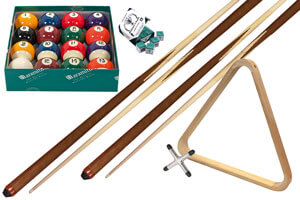 The Longoni Elegant pool table accessory pack.