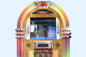 The Rock-Ola Bubbler Jukebox Frame