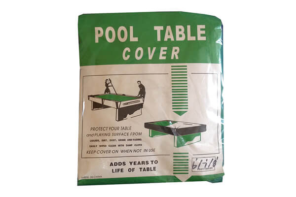 Green Pool Table Cover