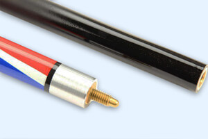 The Powerglide Union Jack cue