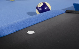 Quality cloth on the Pro American pool table
