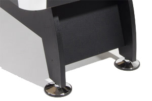 Stable legs and adjustable feet make the Pro American pool table level