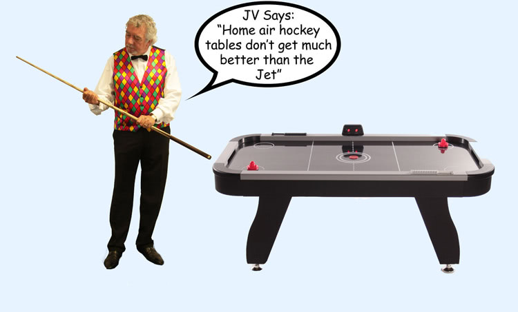 John Virgo endorses the 6ft Multi Games table