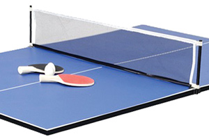 The table tennis top included with the FP-6TT table