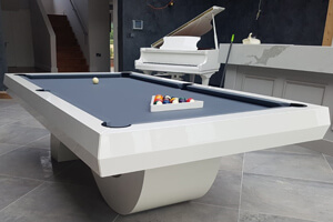 The Picasso pool table