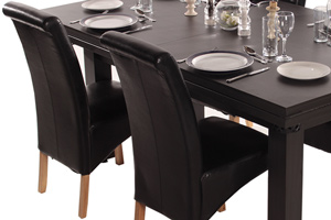 Optional chairs can be supplied with this pool dining table