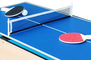 Table tennis accessories for the M4B-1F table
