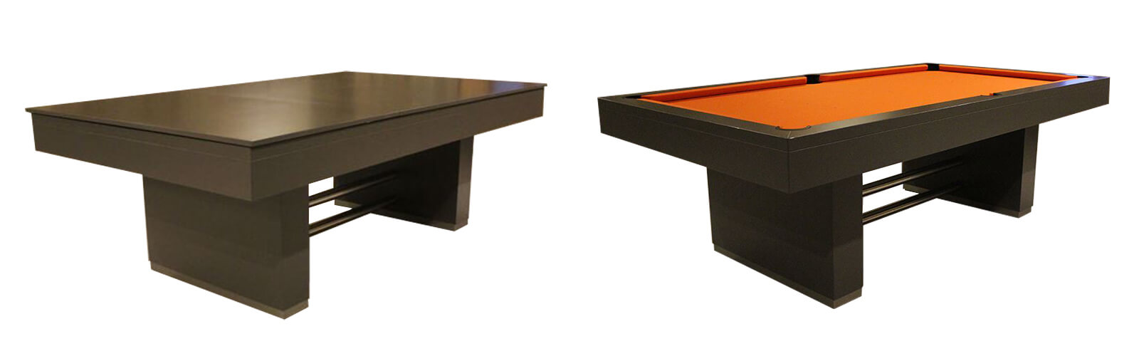 The Monaco 2 pool table with table top fitted