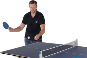 The Tekscore table tennis tops give great performance