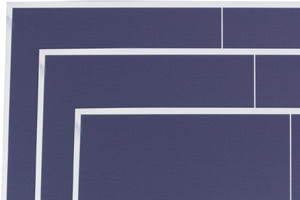 Three tennis table top sizes are available