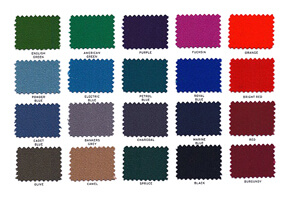 Cloth Colors by Hainsworth