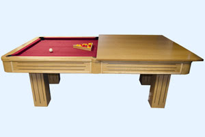 The Rincao is a large, luxury pool table