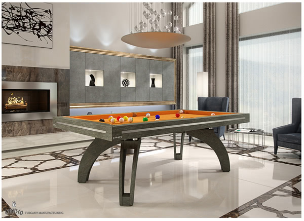 The Etrusco P40 Stone pool table