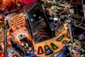 Ramp on the Stern Iron Maiden Pro pinball