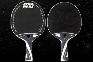 Table tennis Star Wars bats