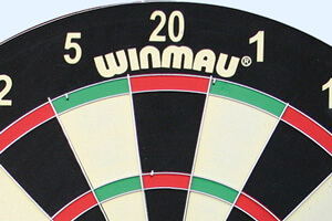 part of the Winmau Family dartboard