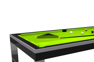 The Singapore Slate Bed Pool table with accessories