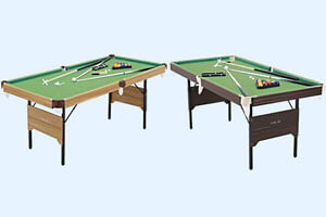 The Two Options of The Pureline 6ft Pool Table