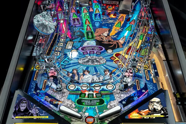 Ster Star wars premium pinball machine features