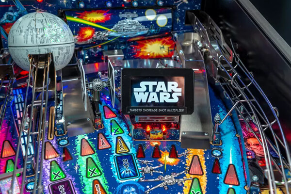 Premium Star Wars Pinball Machine Features