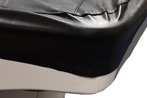 The leather pool table cover