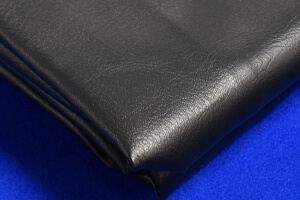 The leather pool table cover.