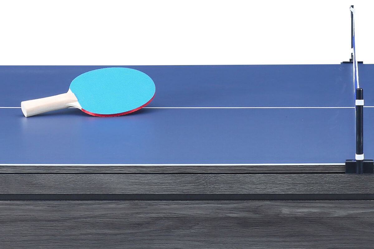 The table tennis top on the Amalfi II pool table.