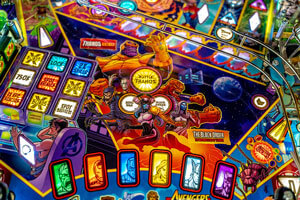 The Stern Avengers Infinity Quest Limited Edition Pinball Machine Features.