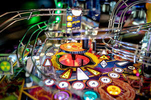 The Stern Avengers Infinity Quest Pinball Limited Edition Machine Features.