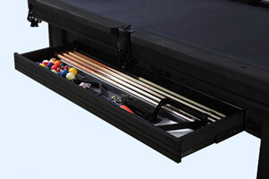 The Pureline Washington IV Pool Table Drawer.