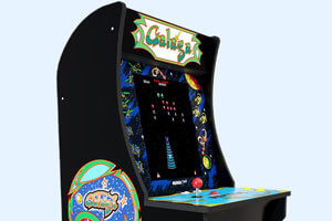 The Galaga 17 inches LCD sreen.