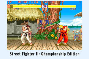 Street Fighter II: Championship Edition.