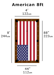 What room size do i need for my pool table liberty games - What is the size of a standard pool table ...