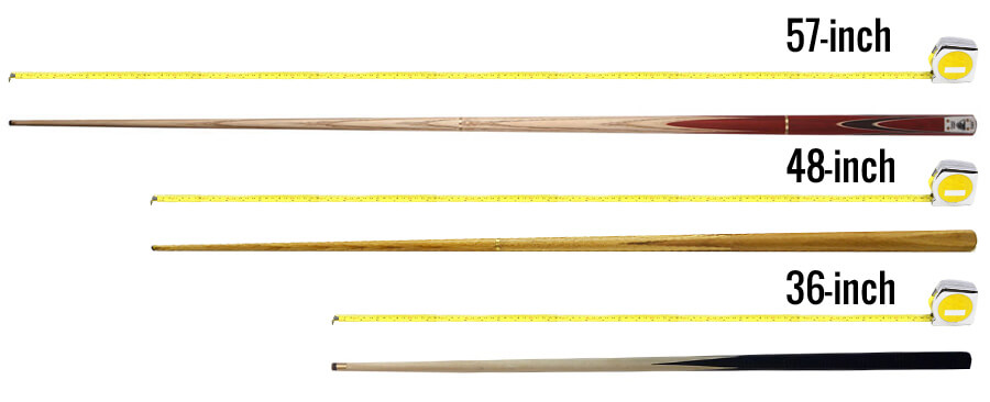 4 full size 57 inch Pool Snooker Cue