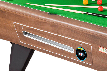 A contactless pool table mech.