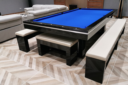 A Monaco American pool dining table.