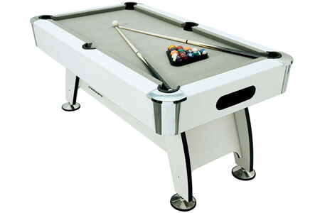What's the difference between MDF & slate bed pool tables?