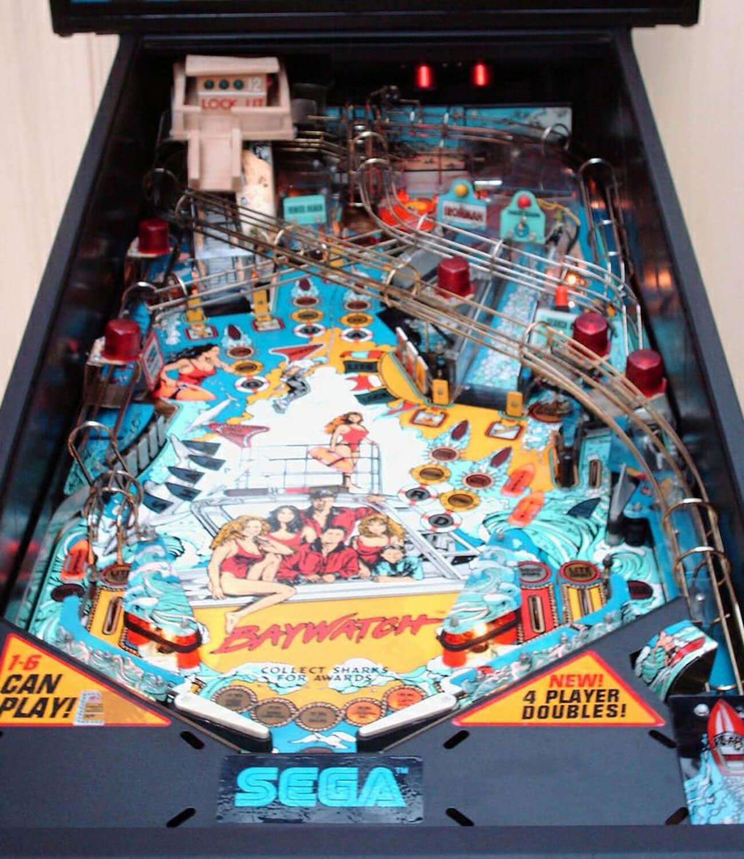 Baywatch Pinball Machine Liberty Games