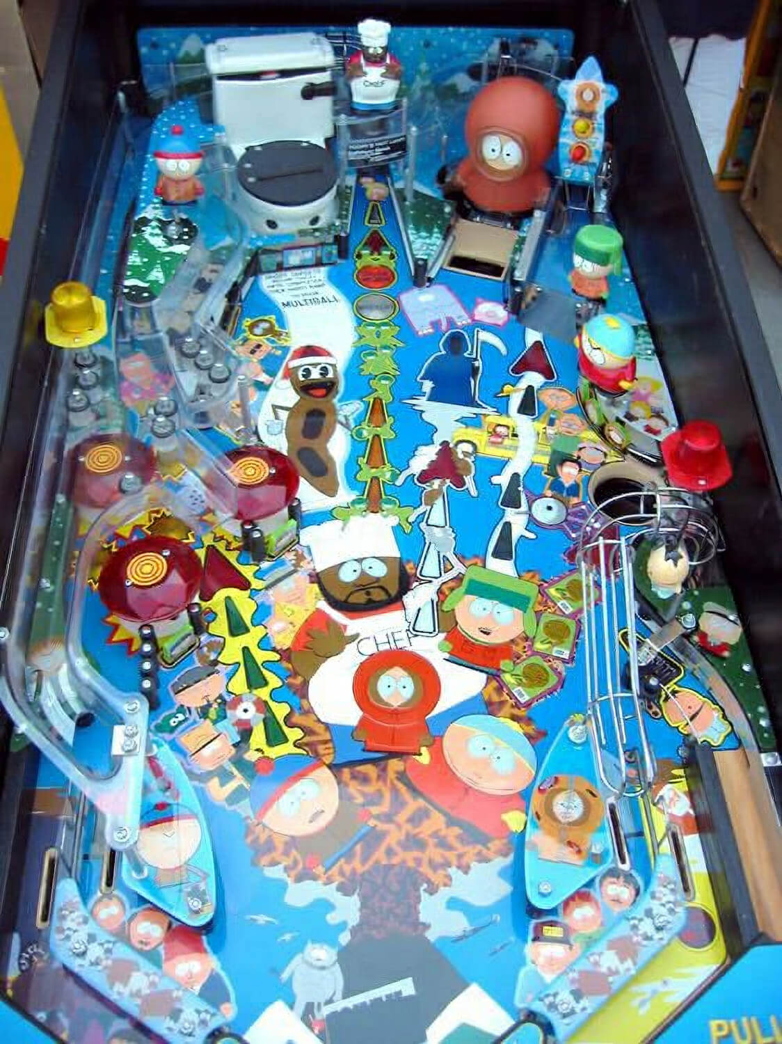 South Park Pinball Machine Liberty Games