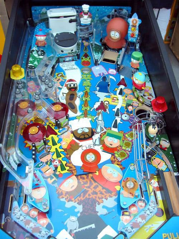 South Park Pinball Machine Liberty Games