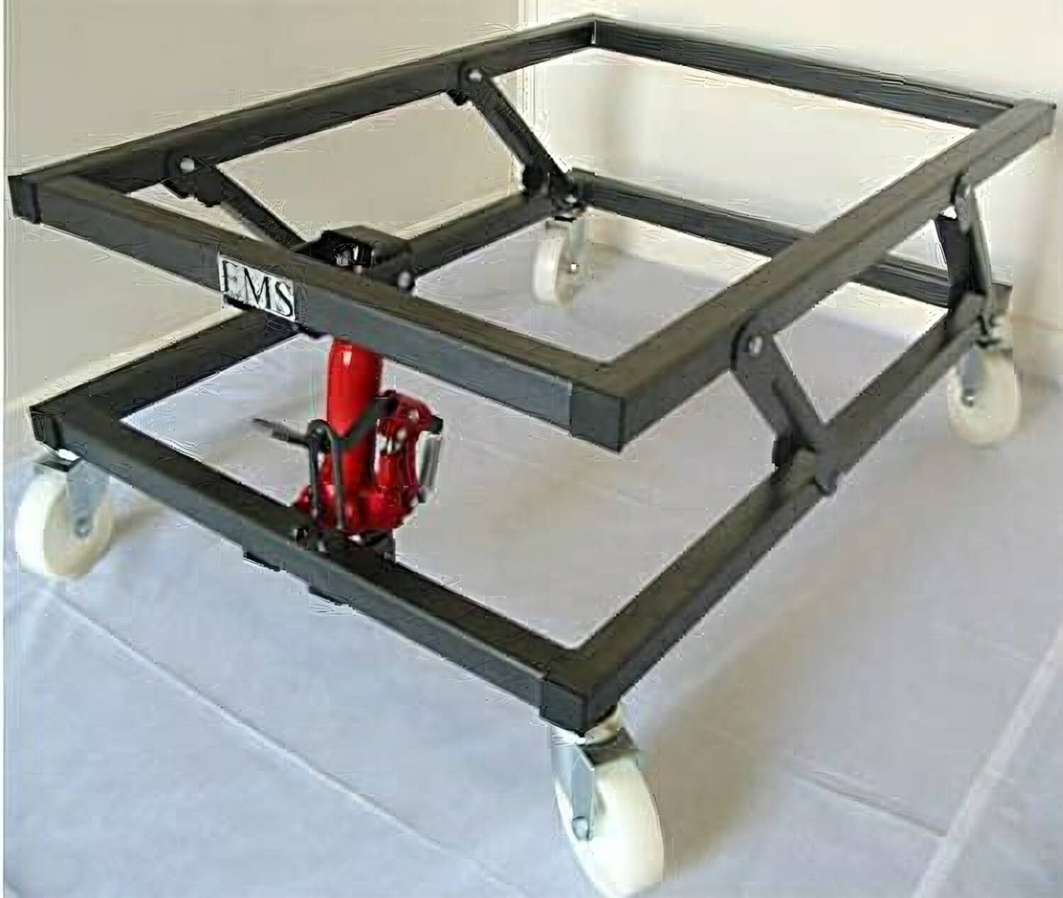 Manual Lift Pool Table Trolley