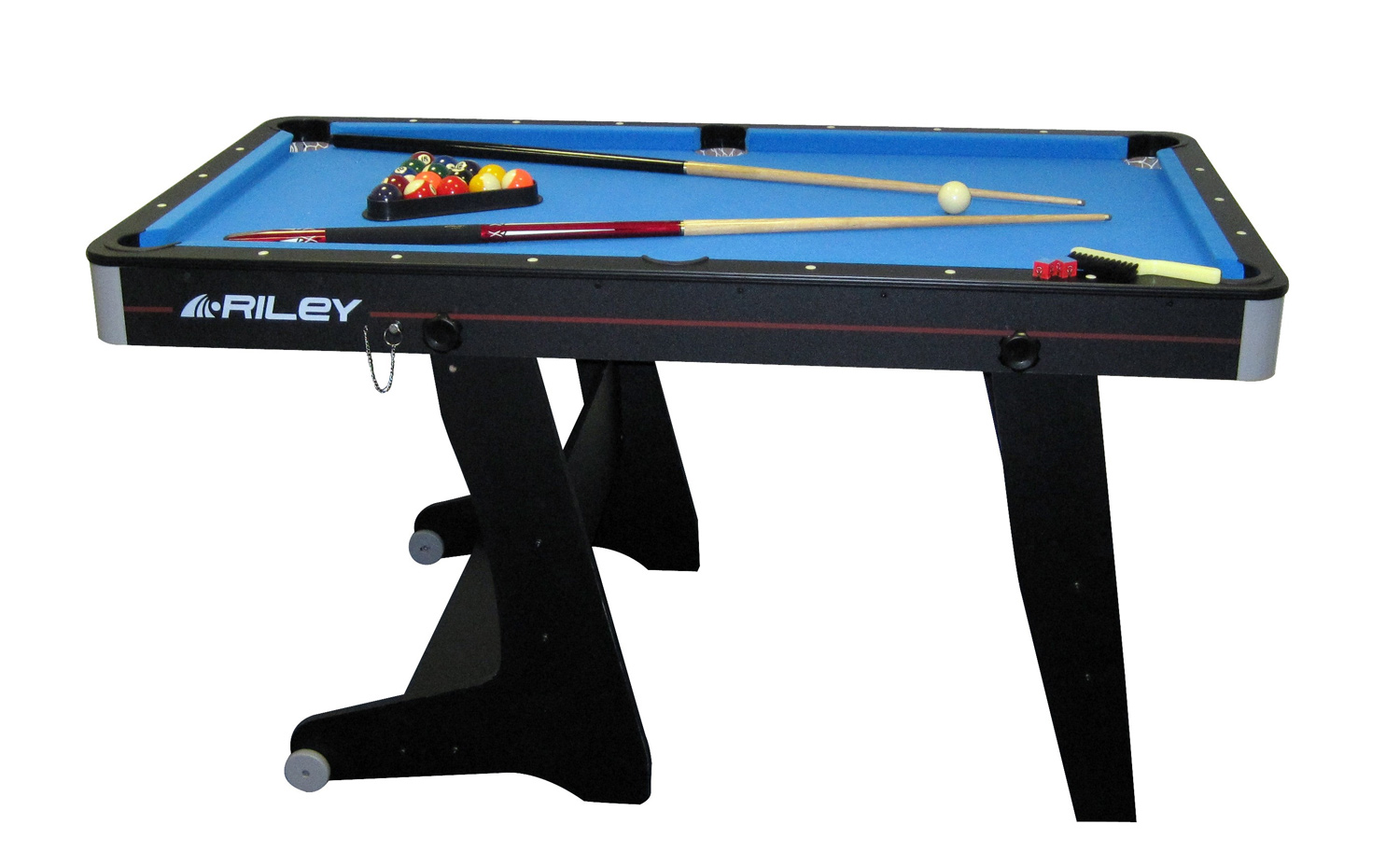 Riley 5ft Folding Pool Table Fp 5b Free Delivery