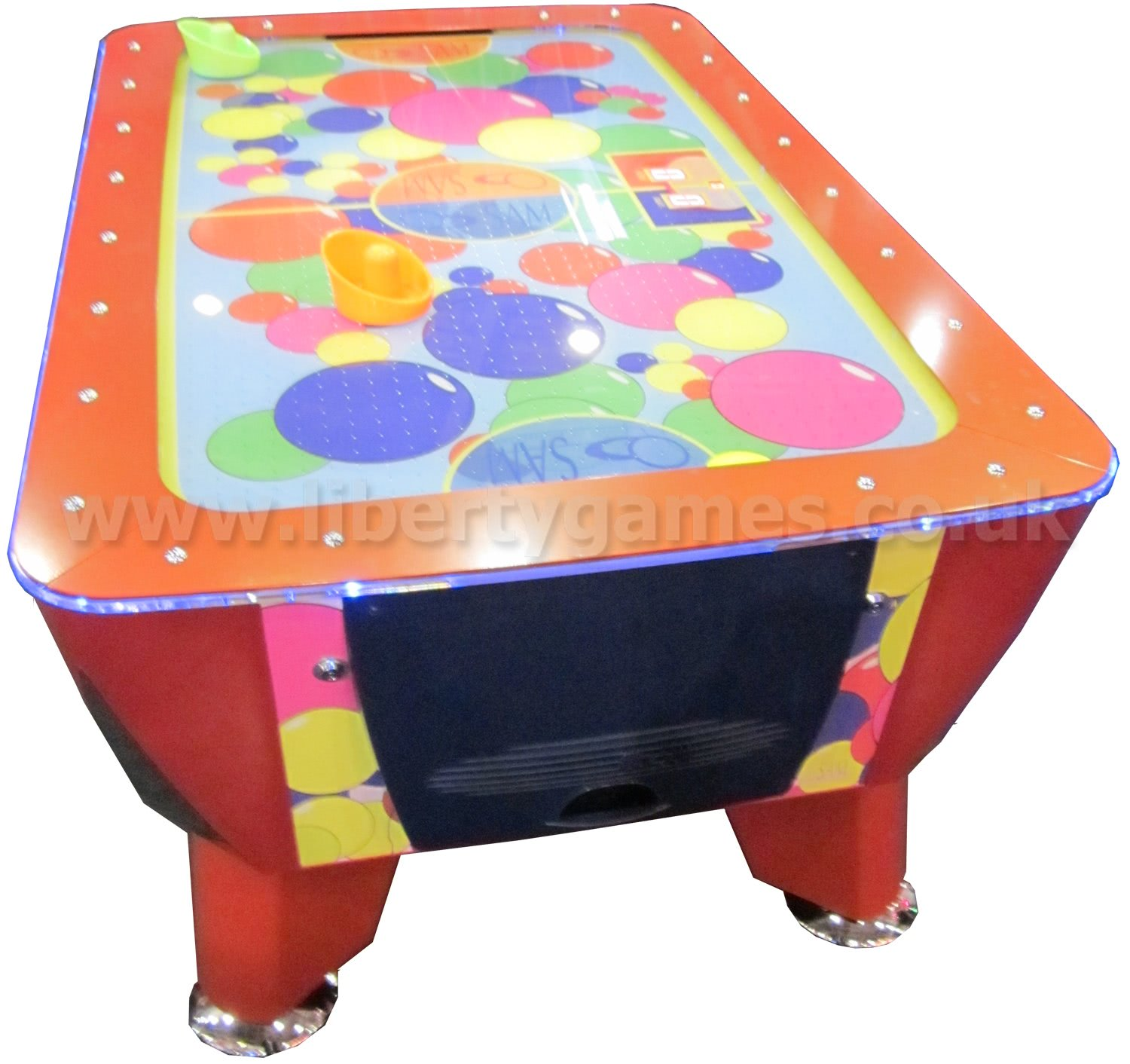 Baby Air Hockey   Coin Operated