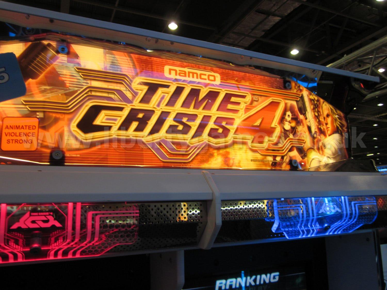 Namco Time Crisis 4 Twin Arcade Machine Liberty Games